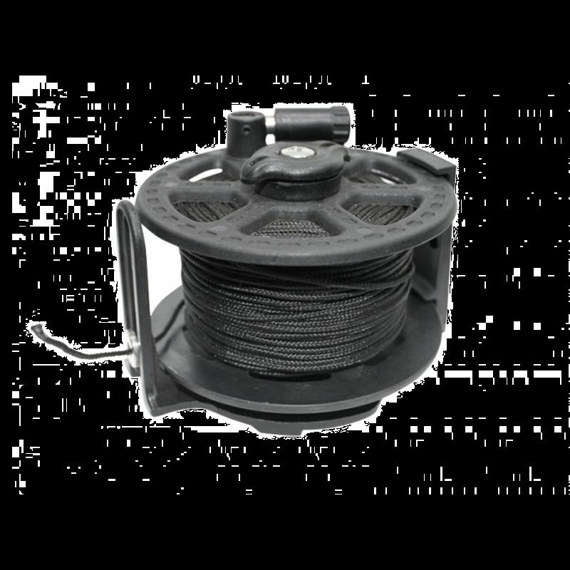 Linehjul med 50m 1,5 mm Dacron Line thumbnail